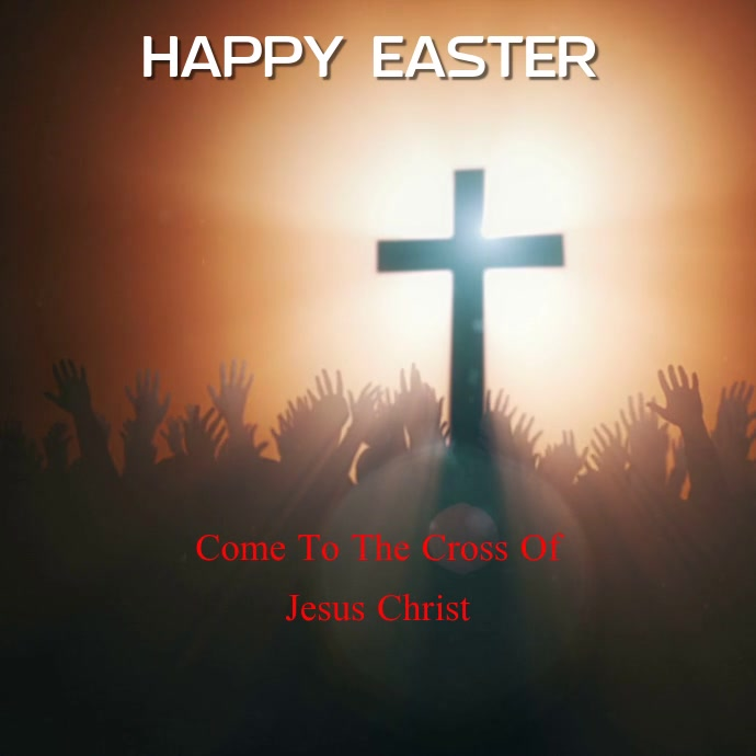 Easter Card Video Template