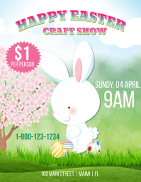 Easter Craft Show Pamflet (VSA Brief) template