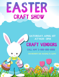 Easter Craft Show Flyer (US Letter) template