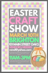 Easter Craft Show