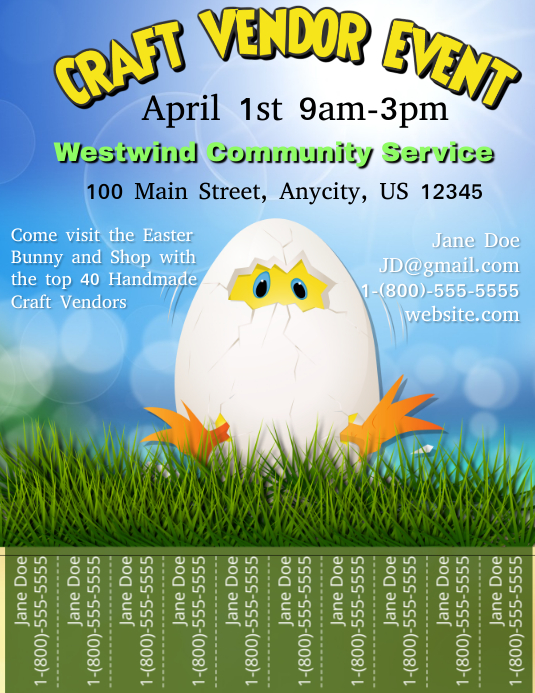 Easter Craft Vendor Event