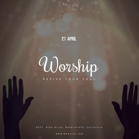 Easter Day Worship Event