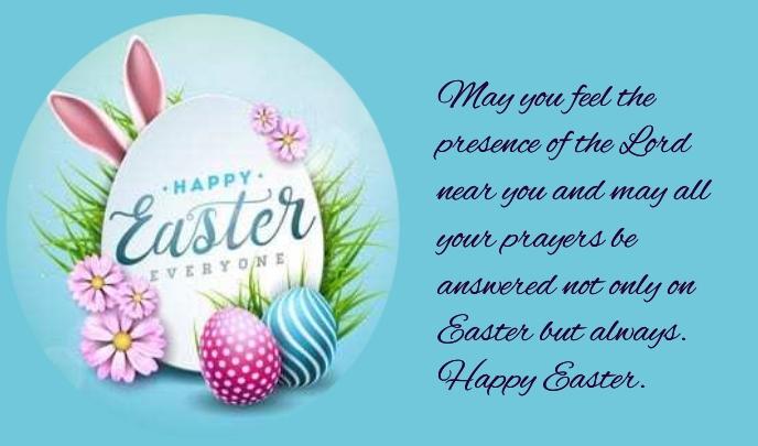 Easter Tanda template