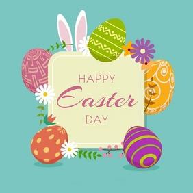 Easter Instagram Post template