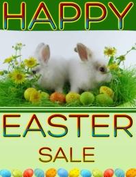 Easter Flyer (US Letter) template