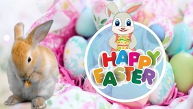 Easter Facebook Cover Video (16:9) template