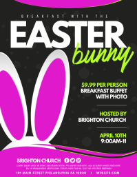 Easter Flyer (US Letter) template