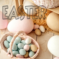 EASTER Album Cover template