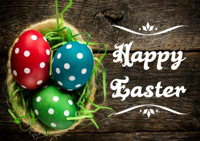 Easter Kartu Pos template