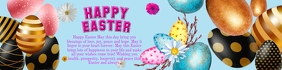 Easter Banner 2' × 8' template