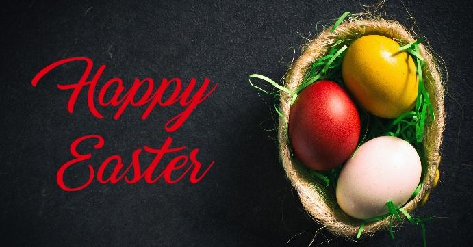 Easter Portada de evento de Facebook template