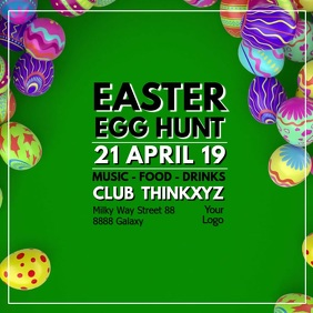 Easter Egg Dinner Hunt Party Event