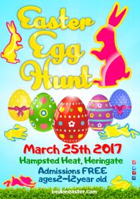 Easter Egg Festival Poster