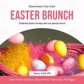 Easter Egg Hunt and Brunch Video Invitation