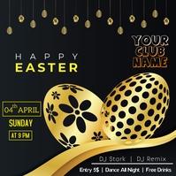 Easter egg hunt Pos Instagram template