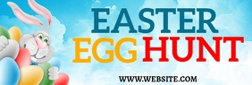Easter Egg Hunt LinkedIn-banner template
