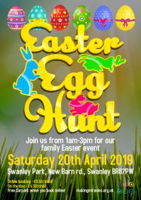 Easter Egg Hunt Event Poster