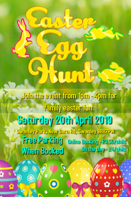 Easter Egg Hunt Event Poster