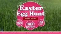 Easter Egg Hunt Facebook Video Event Cover Ikhava Yevidiyo ye-Facebook (16:9) template