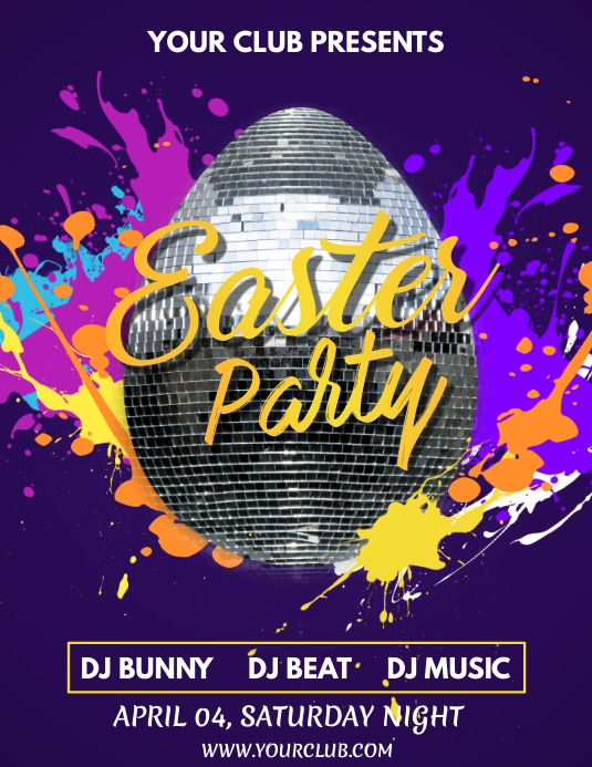Easter egg hunt flyer, Easter, Happy Easter, Easter party