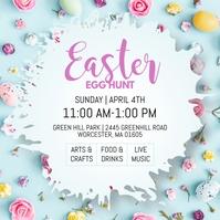 Easter Egg Hunt Instagram Post template