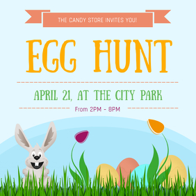 Easter Egg Hunt Instragram Image