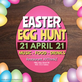 Easter Egg Hunt Party Event