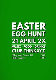 Easter Egg Hunt Party Event Video A4