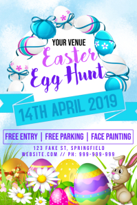 Easter Egg Hunt Poster