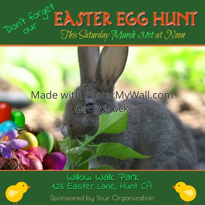 Easter Egg Hunt Video