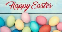 Easter Eggs Sampul Acara Facebook template