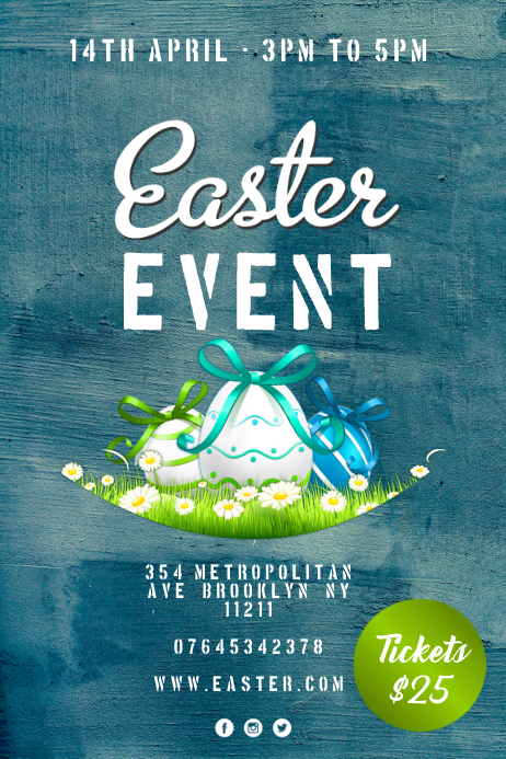 Easter Event Iphosta template