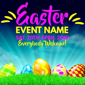 Easter Event Video Template