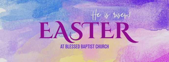 Easter FB cover Facebook 封面图片 template