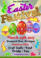 Easter Festival Poster