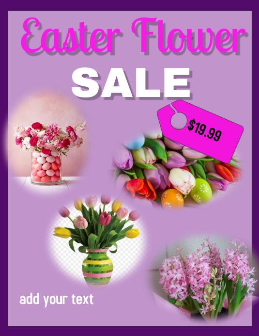 easter flower sale