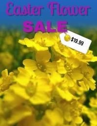 Easter flower sale