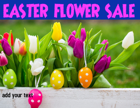 EASTER FLOWER SALE EASTER