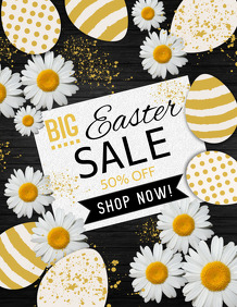 Easter Flyer, Easter Egg Hunt Flyer, Easter Sale Flyer