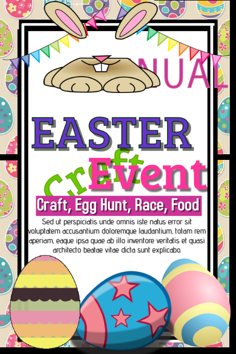Easter Template Postermywall