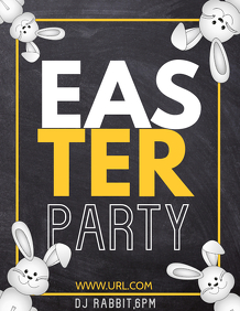Easter flyers,party flyers,event flyers