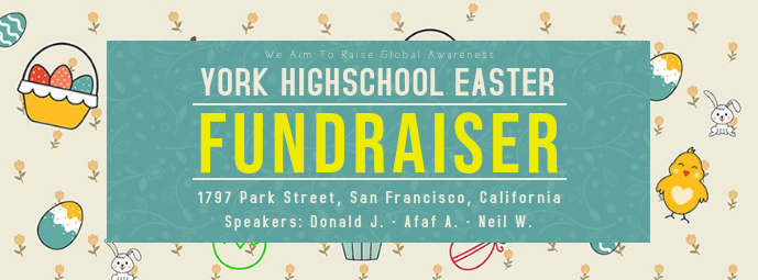 Easter Fundraiser Event Banner