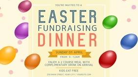 Easter Fundraising Dinner Facebook Cover Video