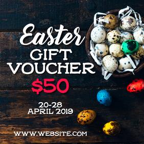 Easter Gift Voucher