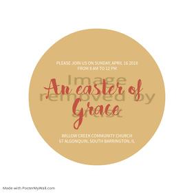 Easter Grace Church Instagram Template