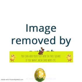 Easter Instagram wish card