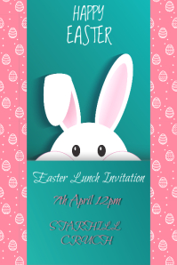 Easter Lunch Invitation
