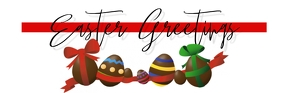 easter mail Header Email template