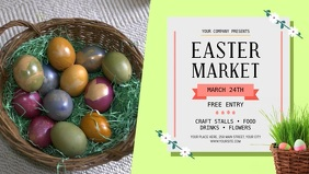 Easter Market Ad Facebook Cover Video