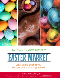 Easter Market Event Flyer template